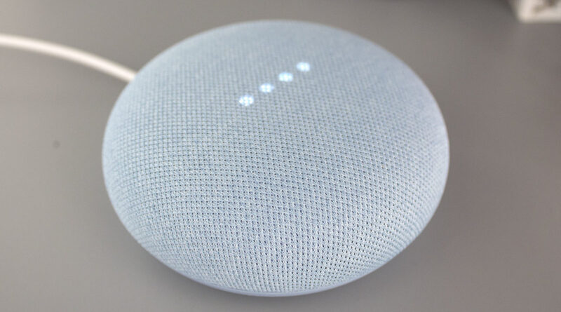 Google Assistant google nest mini