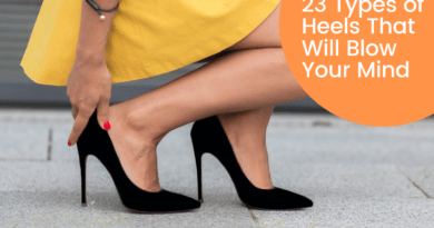 23 Types of Heels For Women