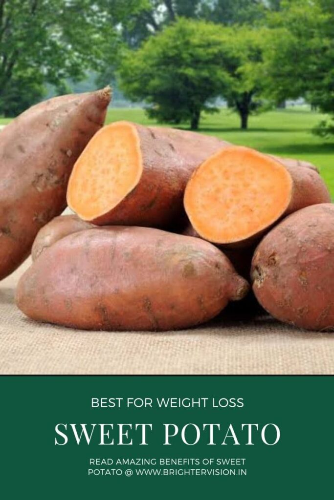 Health Benefits of Sweet Potato for Weight Loss