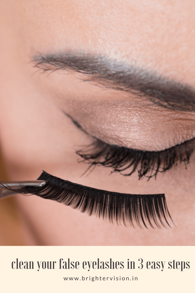 How to clean your false eyelashes in 3 easy steps
