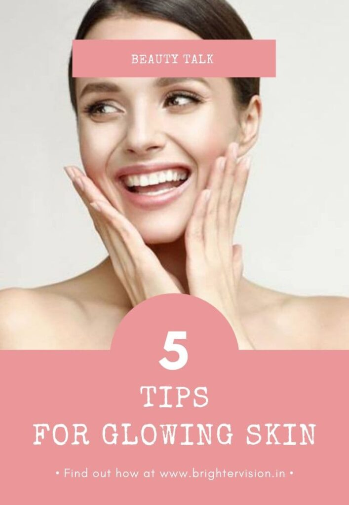 5 Tips For Glowing Skin This Spring